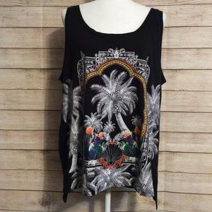 NWOT Attention Jungle Tank Top
